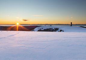 © Rafaela Zwerger - Sonnenaufgang über dem Feldberg im Schwarzwald